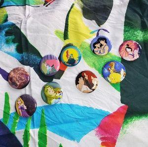 Disney Princess buttons